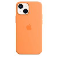 Apple iPhone 13 mini Silikon Case Gelborange