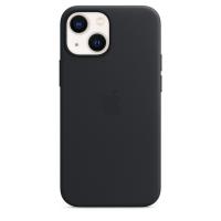 Apple iPhone 13 mini Leder Case Mitternacht