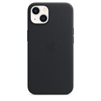 Apple iPhone 13 Leder Case Mitternacht