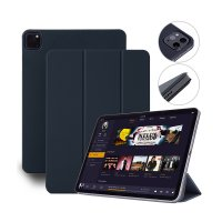 "Devia Magnetic Case für iPad Pro 12.9"" (3.-5. Gen.) Blau"
