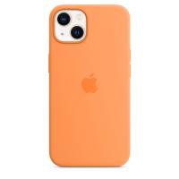 Apple iPhone 13 Silikon Case Gelborange