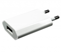 DINIC Ladeadapter mit USB Anschluss Weiß