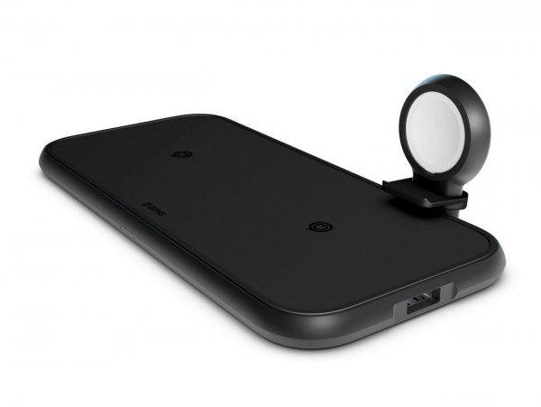 Zens Aluminium 4-in-1 Dual Wireless Qi Charger